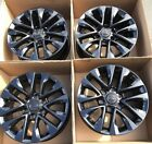 18 Lexus GX460 WHEELS RIMS FACTORY OEM GLOSS BLACK GX 460 SET 4 74297