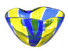 Archimede Seguso Murano for Tiffany  Co Art Glass Bowl Signed