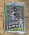 2020 Topps Clearly Authentic Baseball Cards 28