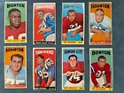 1965 Topps Football Set Nice group Lot of 15 Tall Boys cards SPs