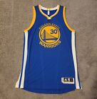 2010-2016 Authentic Adidas Rev30 Stephen Curry Away Jersey Sz L WITH FREE GIFT