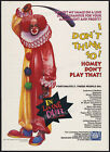 IN LIVING COLOR Orig. 1991 Trade print AD Lic. promo poster Homey D. Clown