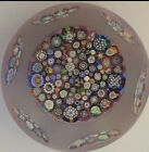 john deacons paperweight Closepack Sandblasted And Faceted