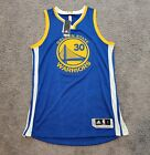 2010-2017 Authentic Adidas Revolution 30 Stephen Curry Away Jersey Sz L