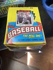 1986 topps baseball wax box. Clean. Never Searched