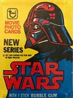 2 STAR WARS 1977 Trading Card Set Wrapper Series 2 - Topps Yellow Darth Vader