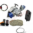 2 Stroke Big Bore 47cc 49cc Engine Motor Kit Quad DirtBike ATV Chopper Scooter