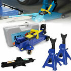 2 3Ton Hydraulic Lift Floor Jack and Jack Stand Heavy Duty Portable Repair Tools