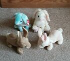 TY Beanie Baby Easter Bunny Bundle Nibbler Nibbly Marshmallow Spring Plush Toy