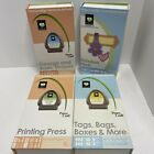 Cricut cartridge lot Of 4 George Shapes Finds Tags Printing Press H1