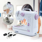 Portable Mini Electric Sewing Machine Double Speed 12 Stitches Household Tailor