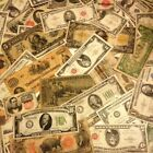 ESTATE SALE LOT OLD CURRENCY COINS GOLD SILVER CERTIFICATE LARGE SMALL MONEY