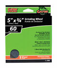 Gator 5 in Dia x 3 4 in thick x 1 in Grinding Wheel 1 pc Case of 2