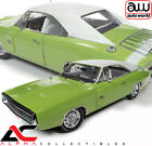 AUTOWORLD AMM1249 118 1970 DODGE CHARGER R T FJ5 SUBLIME GREEEN HEMMINGS