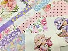 5 My Angel Baby Pre cut QUILT KIT Baby or Child Pink Yellow Lavender Green