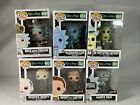 Funko Pop Rick And Morty Lot of 6 New Box Damage See Pictures