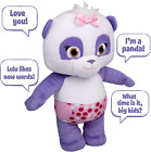 Snap Toys Word Party Talking 12 Inch Baby Lulu Plush Press Lulus Tummy to The