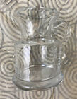 SIMON PEARCE Vermont Small WINDSOR Jug Pitcher Hand Blown Glass Discontinued