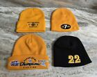 Pittsburgh Steelers 4 Beanie Toboggan Winter Knit Hats NFL Official New 🔥