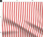 Stripes Vertical Half Inch Spoonflower Fabric by the Yard