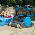 Robotic Pool Cleaner Mainatanance In Ground Cleaning Robot Dual Scrubbing Brush