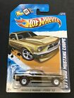 2012 HOT WHEELS SUPER TRASURE HUNT 67 FORD MUSTANG COUPE