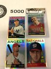 2013 Topps Heritage Chrome Refractor Complete 102 ct. Set Trout Mint #'d 564