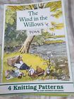 Alan Dart Toy Knitting Pattern Booklet Wind In The Willows