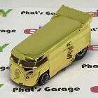 Hot Wheels Gold Chrome VW Drag Bus Volkswagon from Convention Charity RARE