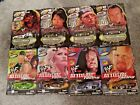 Lot Of 8 1999 WWF Road Champs Attitude Racing Wrestlemania 2000 Die Cast Cars
