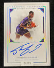 """Shaquille O'Neal 2016 National Treasures Auto Notable Nicknames SP 25 """"Diesel"""""""