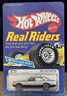 Vintage Hot Wheels REAL RIDERS MERCEDES 380 SEL Silver Unpunched Card 164