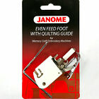 Janome Even Feed Foot With Quilting Guide For Memory Craft Embroidery H1198