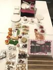18 Doll Food Dishes Candy Drinks Cheese Lot Fits 18 American girl Doll