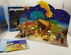 Vintage Playmobil Christmas Nativity And Wise Kings Set Ages 4 Up 5719 Creche