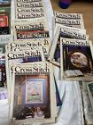 VTG LOT Cross Stitch  Country Crafts Magazines 87 90 PLUS MUCH MORE NICE