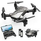 DEERC D20 Mini Drone for Kids with 720P HD FPV Camera Remote Control Toys Headl