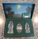 MARQUIS by Waterford Crystal The Nativity Collection Mary Joseph  Jesus
