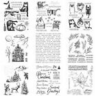 Halloween Christmas Cat Silicone Clear Stamps Diy Scrapbooking Handmade Crafts