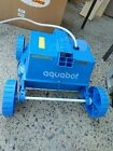 Aquabot Junior Rover for Cleaning Above Ground Pools W Power Supply USED