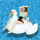 Inflatable Swan Pool Float Ride On 55 x 44 x 38 inches Large Lake Floats