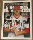 """Mike Trout Signed 15x20 Sports Illistrated """"The Supernatural"""" Photo - MLB Holo"""
