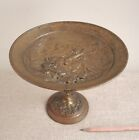 French Gilt Bronze Tazza Cherubs  Goat Clodion Antique 19th C Foundry Mark LM