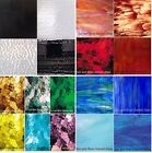 Mosaic Glass or Stained Glass sheets 4x6 Variety packs Free Shipping