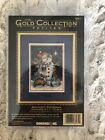 Dimensions Gold Collection Petites Midnight Snowman Counted Cross Stitch Kit NEW