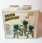 Vintage Metro 1989 Green Machine The Frog Band Sound Activated Toy with Box