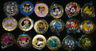COMPLETE SET of Disney Wonder Mates Mickey and Friends Coins All 18 Coins Sealed