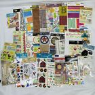 Lot 33 Packs Scrapbooking Crafting Stickers and Embellishments Jolees Sticko