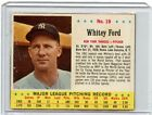 Top 10 Whitey Ford Baseball Cards 23