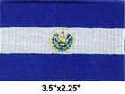 50 Pcs El Salvador Flag Embroidered Patches 35x225 iron on